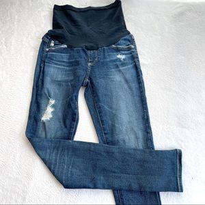 AG maternity skinny stretch jeans 26 (cd10)